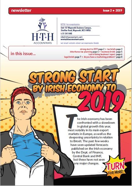 Irish economy makes strong start to 2019