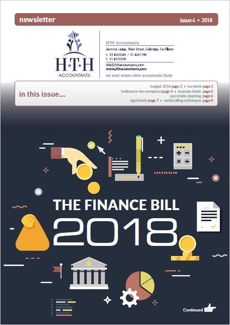 The Irish finance bill 2018