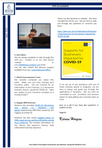 Covid supports 2